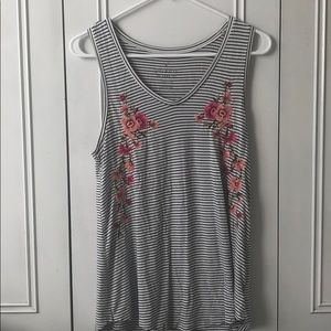 Striped and floral American eagle soft n sexy tank